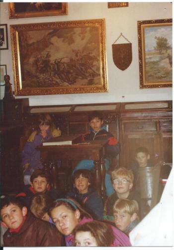Uczniowie SP 204 w Izbie Pamięci