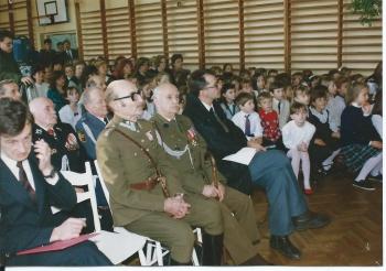 Społeczność Szkoły oraz Goście podczas uroczystości