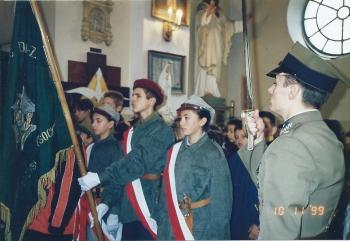Od czasu nadania szkole imienia 19. Pułku Ułanów Wołyńskich w każdym roku Święto Szkoły obchodzone było bardzo uroczyście