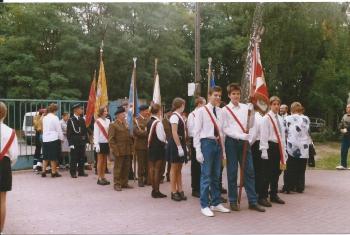 Święto Szkoły było także okazją do rozmowy z kombatami wojennymi i ciekawymi osobistościami