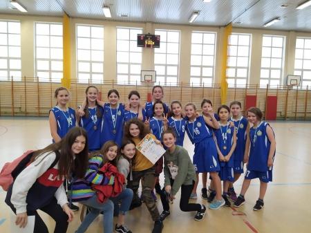 Mistrzostwa Dzielnicy Wawer w Koszykówce w kategorii dzieci (rocznik 2007 i mł