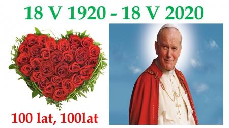 Odliczamy dni do urodzin Jana Pawła II