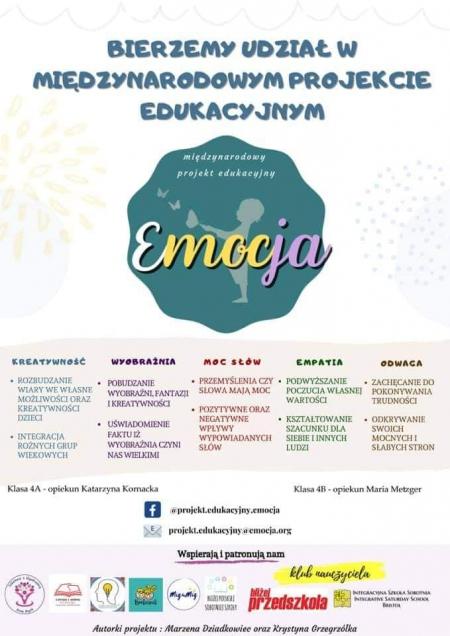 Międzynarodowy projekt  Emocja