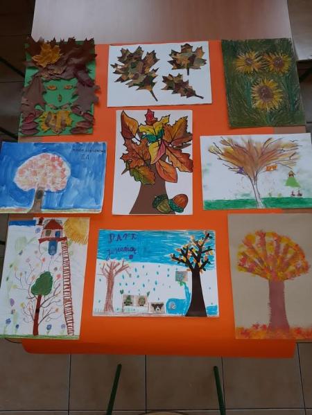 WYNIKI KONKURSU- Barwy jesieni