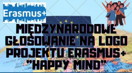 Międzynarodowe głosowanie na logo projektu Erasmus+