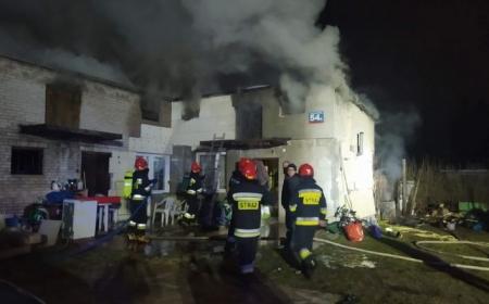 Pomoc pożar