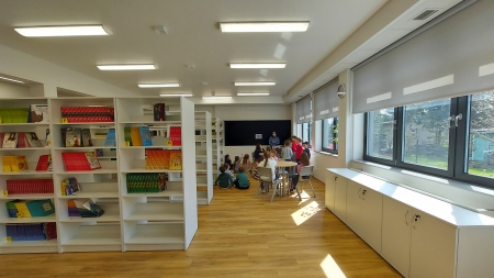 Zajęcia w Bibliotece- grupa Maki