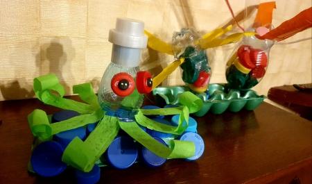 Zabawki z nieużytków