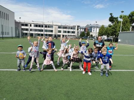 Dzień Dziecka w grupie TULIPANY