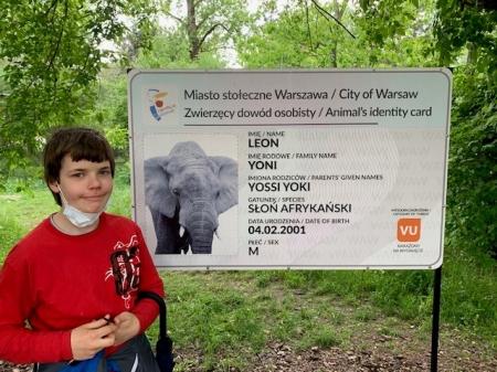 Relacja Jacka z Koła Dziennikarskiego z wizyty w warszawskim zoo
